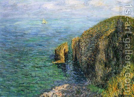La Banche by Gustave Loiseau - Reproduction Oil Painting
