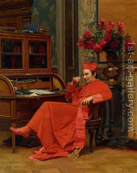 Eureka by Jehan Georges Vibert - Reproduction Oil Painting