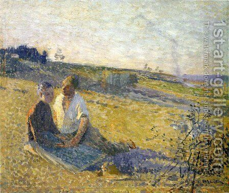 Amour by Henri Martin - Reproduction Oil Painting