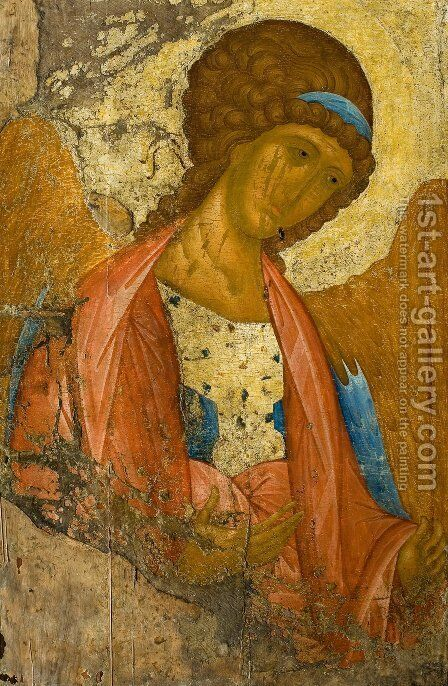 Archangel Michael by Andrei Rublev - Reproduction Oil Painting