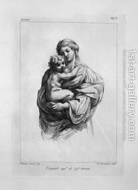 Madonna and Child by Giovanni Battista Piranesi - Reproduction Oil Painting