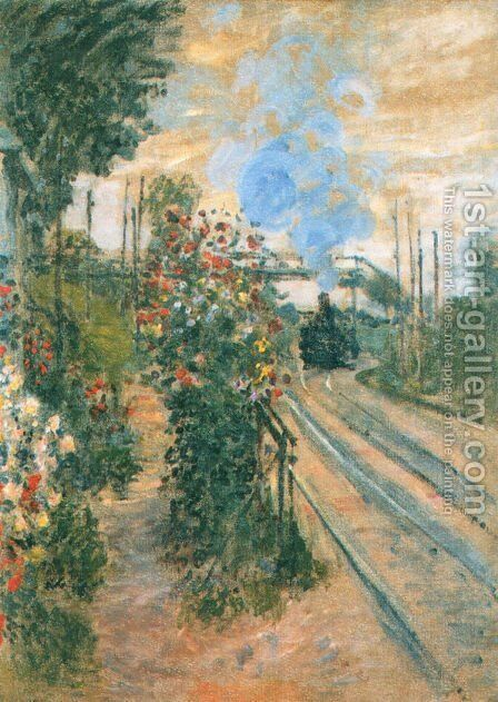 Arriving at Montegeron by Claude Oscar Monet - Reproduction Oil Painting