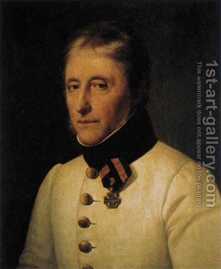 Franz Xaver Richter von Binnenthal 1814-15 by Johann Peter Krafft - Reproduction Oil Painting