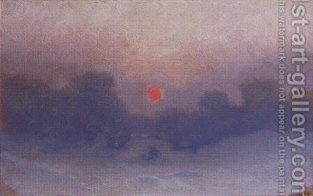 Winter 4 by Arkhip Ivanovich Kuindzhi - Reproduction Oil Painting