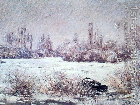 The Frost by Claude Oscar Monet - Reproduction Oil Painting