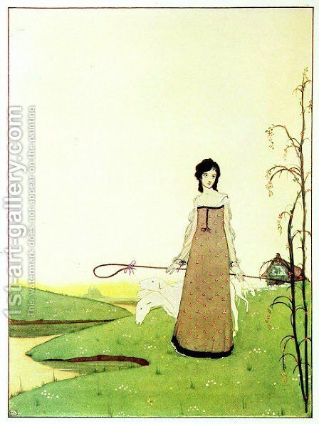 The Year's at the Spring 23 by Harry Clarke - Reproduction Oil Painting