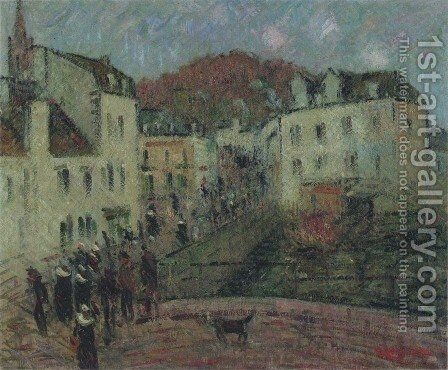 Mill at Pont Aven by Gustave Loiseau - Reproduction Oil Painting
