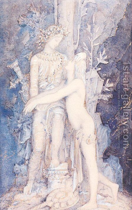 Unknown 8 by Gustave Moreau - Reproduction Oil Painting