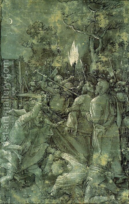 The Arrest of Christ by Albrecht Durer - Reproduction Oil Painting