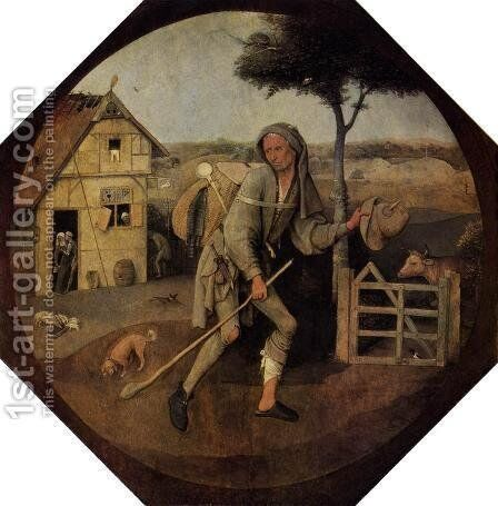 The Vagabond (The Prodigal Son) by Hieronymous Bosch - Reproduction Oil Painting
