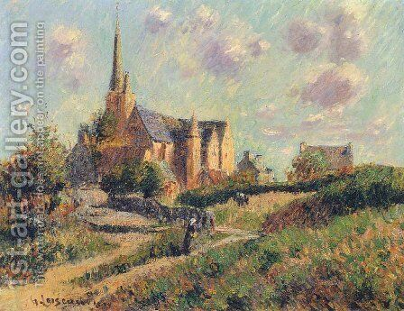 Notre Dame de la Clarte by Gustave Loiseau - Reproduction Oil Painting