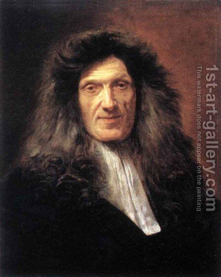 Dr Raymond Finot by Jean-baptiste Jouvenet - Reproduction Oil Painting