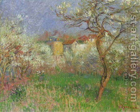 Spring 2 by Gustave Loiseau - Reproduction Oil Painting
