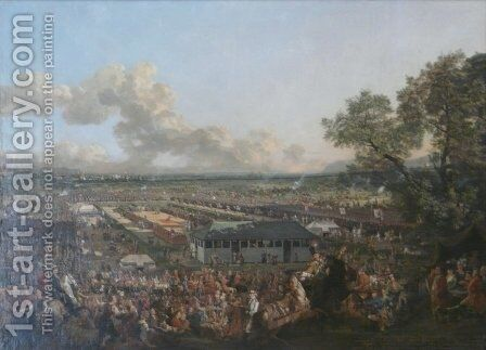The Election of the King Stanislaus Augustus by Bernardo Bellotto (Canaletto) - Reproduction Oil Painting