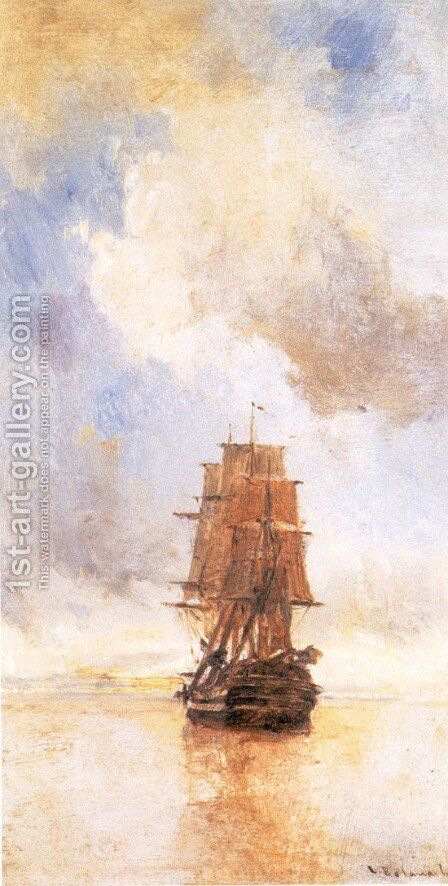 Ship by Constantinos Volanakis - Reproduction Oil Painting