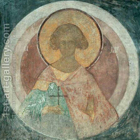 St. Laurus by Andrei Rublev - Reproduction Oil Painting