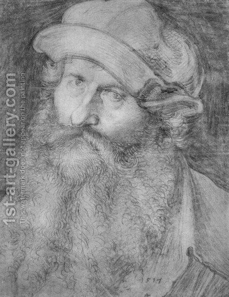 Portrait of a man (John Stabius) by Albrecht Durer - Reproduction Oil Painting