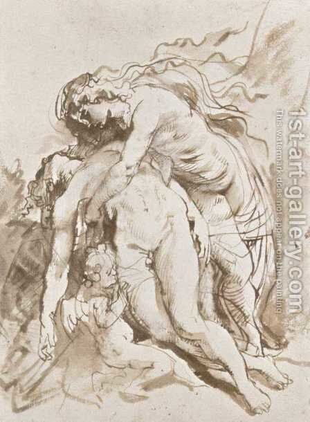 Death of Adonis by Rubens - Reproduction Oil Painting