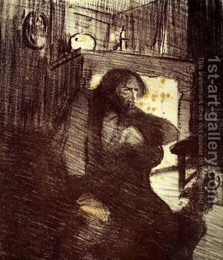 La Ballade du Desespere by Theophile Alexandre Steinlen - Reproduction Oil Painting