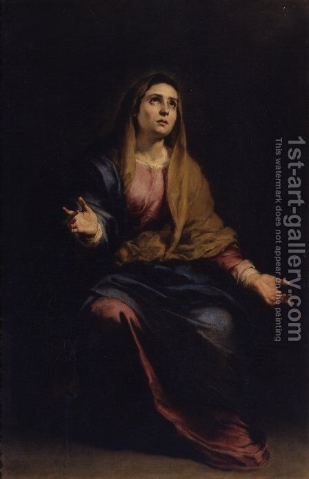Dolorosa by Bartolome Esteban Murillo - Reproduction Oil Painting