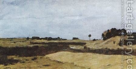 Fields by Isaak Ilyich Levitan - Reproduction Oil Painting