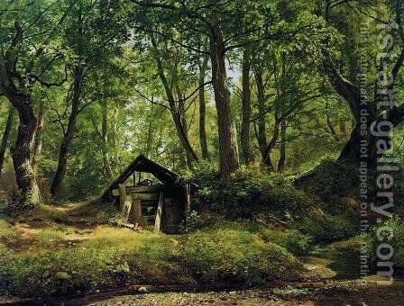 Sunny day. Merikyul by Ivan Shishkin - Reproduction Oil Painting