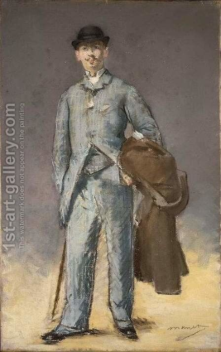 Rene Maizeroy by Edouard Manet - Reproduction Oil Painting