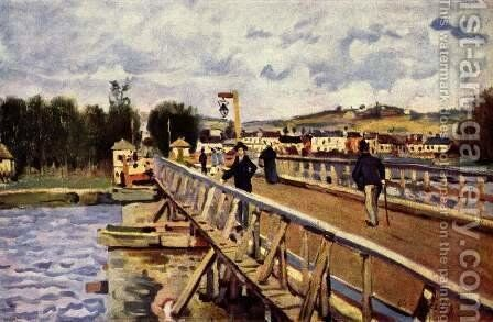 Langland Bay by Alfred Sisley - Reproduction Oil Painting