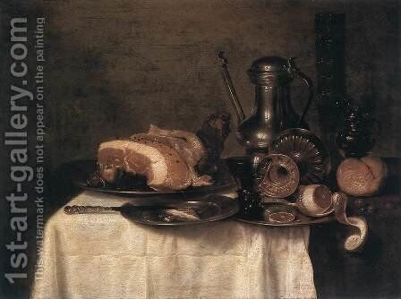 Still-Life 1649 by Willem Claesz. Heda - Reproduction Oil Painting