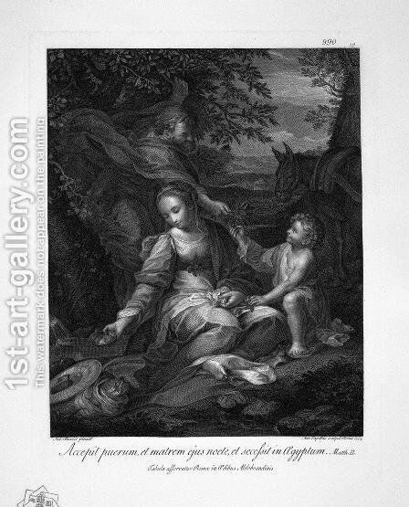 Jesus praying on the Mount of Olives by Giovanni Battista Piranesi - Reproduction Oil Painting