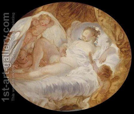 The Zenith by Jean-Honore Fragonard - Reproduction Oil Painting