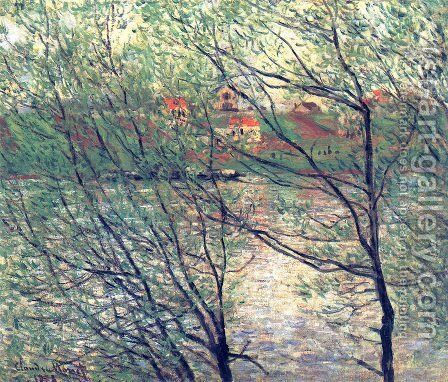 The Isle Grande-Jatte by Claude Oscar Monet - Reproduction Oil Painting
