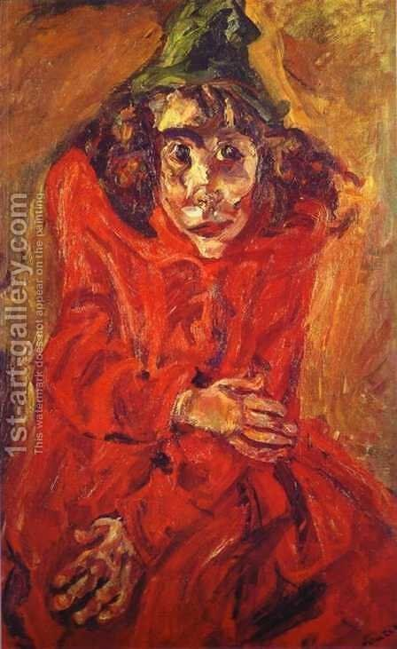 The Mad Woman 2 by Chaim Soutine - Reproduction Oil Painting