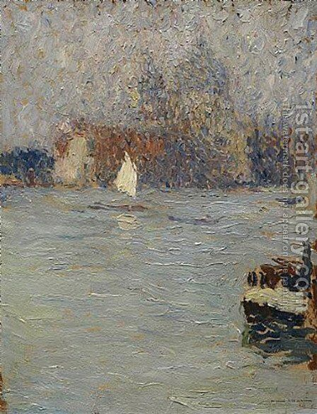 View of Venice by Henri Martin - Reproduction Oil Painting