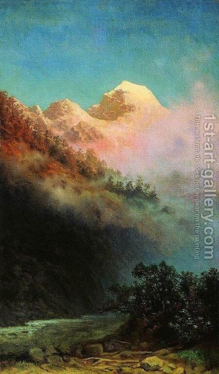 Sunrise by Arkhip Ivanovich Kuindzhi - Reproduction Oil Painting
