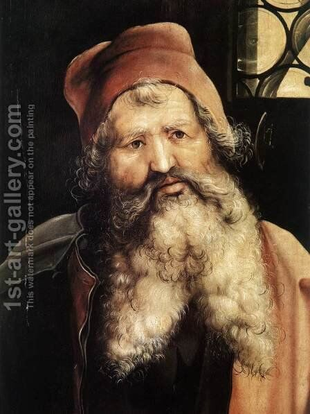 Unknown 4 by Matthias Grunewald (Mathis Gothardt) - Reproduction Oil Painting