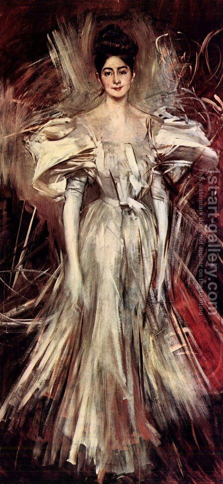 Firework by Giovanni Boldini - Reproduction Oil Painting