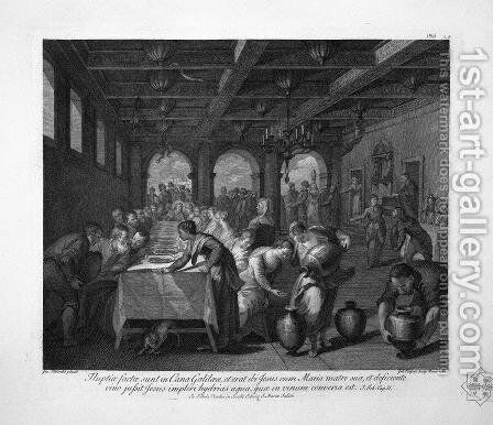 The Feast in the House of Simon the Pharisee by Giovanni Battista Piranesi - Reproduction Oil Painting