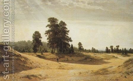 Sands by Ivan Shishkin - Reproduction Oil Painting