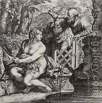 Unknown 7 by Annibale Carracci - Reproduction Oil Painting