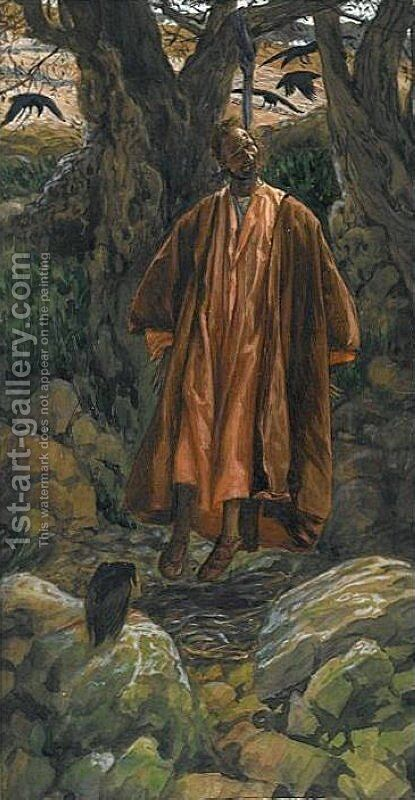 Judas Hangs Himself, illustration for 'The Life of Christ' by James Jacques Joseph Tissot - Reproduction Oil Painting