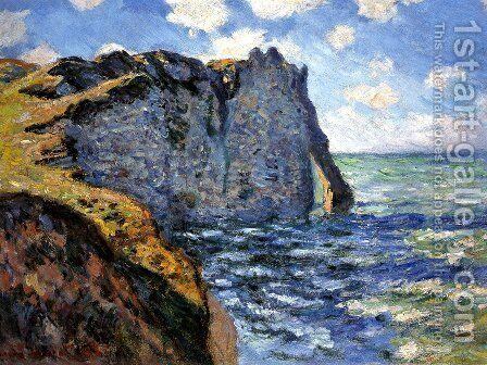 The Manneport by Claude Oscar Monet - Reproduction Oil Painting