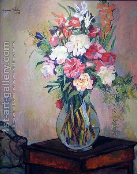 Bouquet of flowers by Suzanne Valadon - Reproduction Oil Painting