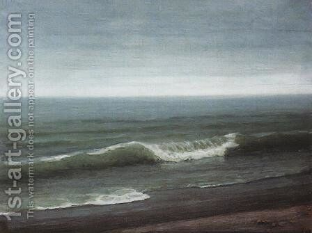 Sea by Arkhip Ivanovich Kuindzhi - Reproduction Oil Painting