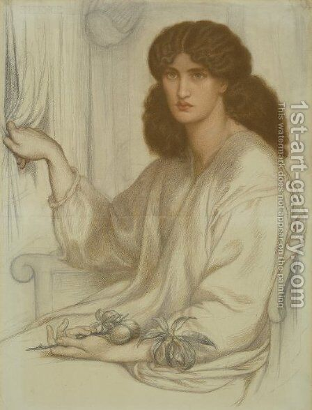 Silence 2 by Dante Gabriel Rossetti - Reproduction Oil Painting