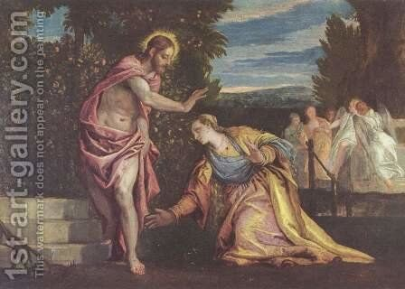 Do not touch me by Paolo Veronese (Caliari) - Reproduction Oil Painting
