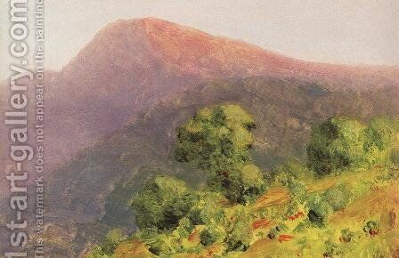 Mountains 2 by Arkhip Ivanovich Kuindzhi - Reproduction Oil Painting