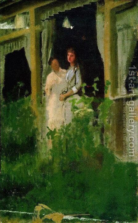 Convalescent by Ivan Nikolaevich Kramskoy - Reproduction Oil Painting