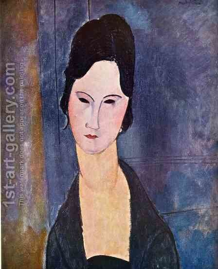 Unknown 5 by Amedeo Modigliani - Reproduction Oil Painting