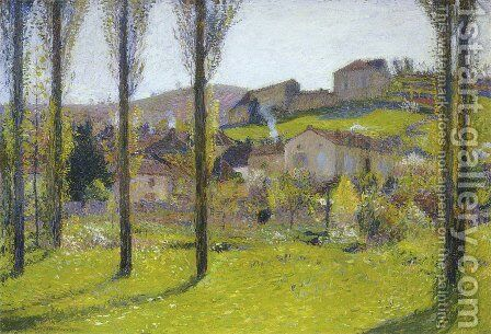 Labastide du Vert 7 by Henri Martin - Reproduction Oil Painting